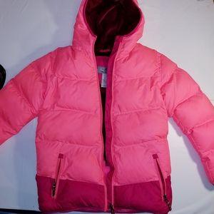 Champion girls pink snow/ski jacket. Size 10-12.